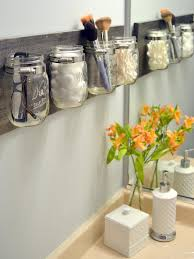 Small Bathroom Organization by Brilliant Small Space Organization Ideas Hgtv U0027s Decorating