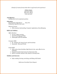 exle of simple resume format sle ppicture of a simple resume new sle cv resume format