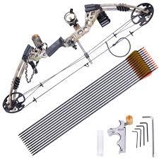 lista de venta de black friday target pro compound right hand bow kit arrow archery target hunting 20