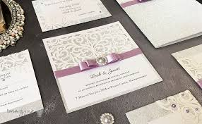 make your own wedding invitations how to make sparkling laser cut wedding stationery