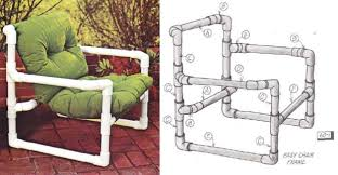 Patio Pvc Furniture Diy Pvc Chair Plans Diy Projects