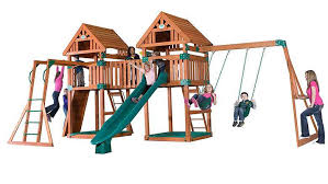 top 10 best wooden playsets swing sets 2017