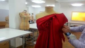 Draping On A Dress Form Dress My Style Free Style Draping Design No 1 Youtube