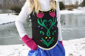 Anna Frozen Costume Diy Anna Costume From Frozen Homemade Frozen Costume