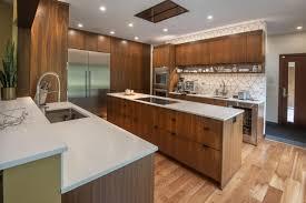 mid century modern walnut kitchen cabinets a mid century treasure in andover ma