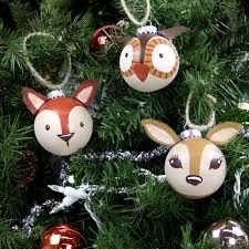 woodland ornaments a c