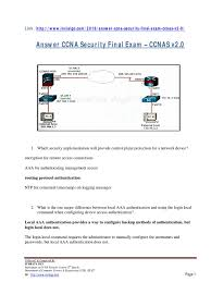 ccna security v2 0 final exam answers 100 1 pdf cisco
