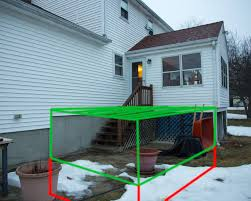can i dig up next to my foundation to add height below my deck for