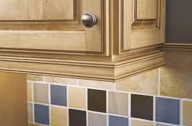 how to trim around kitchen cabinets molding idea to hide cabinet lights interior door