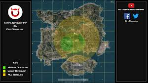 Circle Map Initial Circles Map Best Landing Locations Pubattlegrounds