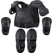 oneal motocross gear new oneal mx youth motocross black peewee chest elbow knee toddler