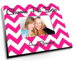 Sorority Picture Frame Create Your Own Color Picture Frame Greek Gear