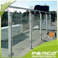 balcony glass railing balcony glass railing suppliers and
