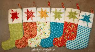there is no pattern for the christmas stocking since the shape is
