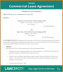 business lease templates lease template letters of intent samples