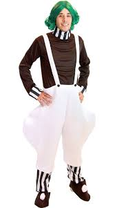 oompa loompa costume factory worker costume willy wonka costume oompa loompa costume