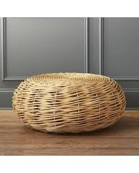 glass coffee table nest autumn special nest rattan coffee table
