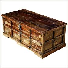 Trunk Coffee Table Side Table Steamer Trunk Side Table Decoration In Coffee Trunks