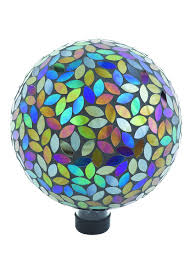 Gazing Ball Pedestals Amazon Com Russco Iii Gd137159 Glass Gazing Ball 10