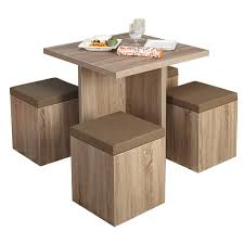table and chairs with storage dining table set manufacturer exporter supplier in jodhpur india