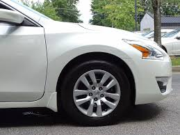 nissan altima white with black rims 2014 used nissan altima 4dr sedan i4 2 5 s at alm roswell ga iid