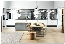 idee meuble cuisine meuble cuisine en inox cuisine credence inox idee deco cuisine