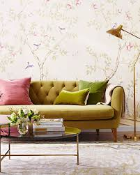 Reusable Wallpaper by Peel Off Easy To Remove Wallpaper Martha Stewart