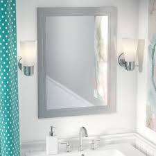Bathroom Medicine Cabinet With Mirror And Lights Top Lighting Medicine Cabinets You Ll Wayfair