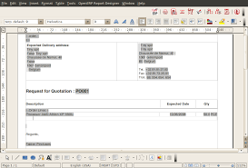 sample quotation doc configuring reports