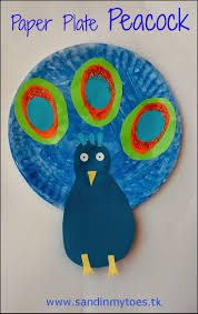 busy hands paper plate peacock peacock crafts peacocks and