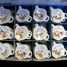 beatrix potter tea set potter rabbit tea bag tidy