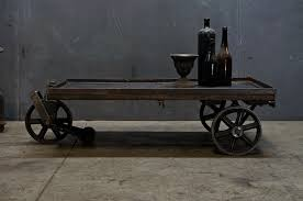 c table with wheels 1085 usa c 1910s vintage industrial steel wheeled mooring cart