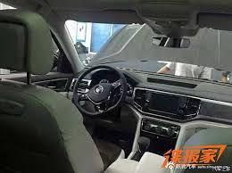 volkswagen crossblue 2018 vw teramont caught undisguised it u0027s the production version