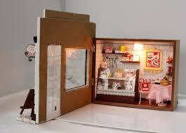amazonsmile wood dollhouse miniature kit diy doll house with