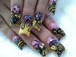 155 best lace henna sheer nails images on pinterest lace nails