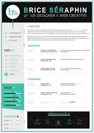 Resume Accent 50 Inspiring Resume Designs And What You Can Learn From Them U2013 Learn