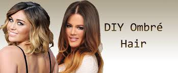 how to ambray hair diy ombré hair the daily frizz