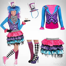 Party Halloween Costumes Teenage Girls Girls U0027 Mad Hatter Costume Idea Girls U0027 Halloween Costume