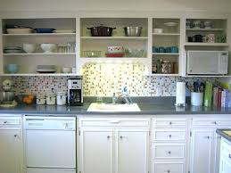 Kitchen Without Cabinet Doors Kitchen Cabinet Doors Hang Open Cabinets Designs Swing Left Right