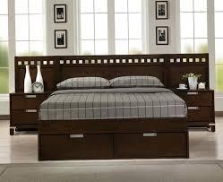 King Platform Bed Frame With Headboard King Bed Frames Fetchmobile Co