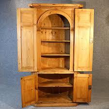 Tall Corner Display Cabinet Tall Corner Cupboard Victorian Display Cabinet Antiques Atlas