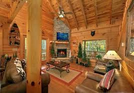 Cabin Sofa Private Luxury 2 Bedroom Cabin With Home Homeaway Sevierville
