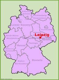 map of leipzig leipzig maps germany maps of leipzig