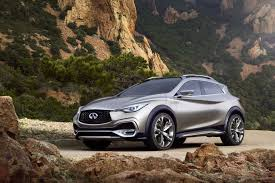 infiniti qx30 concept small luxury suv previews 2016 model at