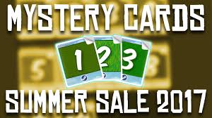 mysterious cards 2017 summer sale 2017