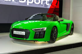 audi r8 blacked out audi r8 spyder v10 plus unveiled at goodwood evo