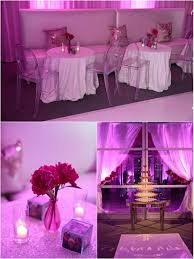 fuchsia infused 50th birthday party at the joule dfw events