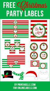 christmas printables onlinelabels com blog