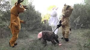 hunting prank remi gaillard youtube
