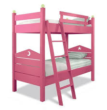 Two Is Better Than One  Cool Kids Bunk Beds - Pink bunk bed